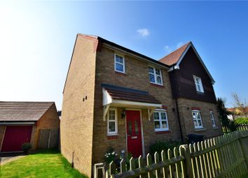 Thumbnail 3 bed semi-detached house to rent in Popejoy Drive, Bagshot, Surrey