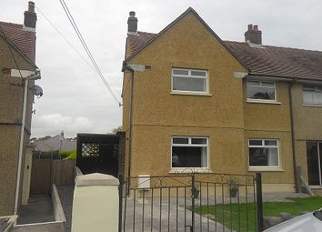 Thumbnail 2 bed semi-detached house to rent in Llewellyn Road, Penllergaer