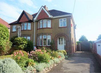 Thumbnail 3 bed semi-detached house for sale in Wenallt Road, Rhiwbina