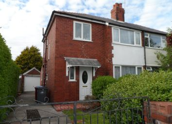 Thumbnail 3 bed semi-detached house to rent in Salmesbury Avenue, Bispham