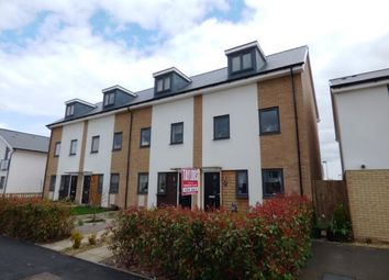 Thumbnail 4 bed end terrace house for sale in Miller Way, Fengate, Peterborough, Cambridgeshire