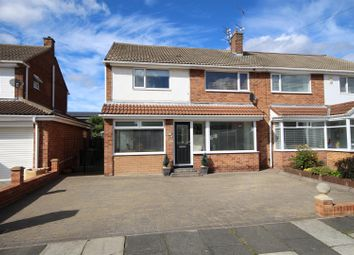 Thumbnail 3 bedroom semi-detached house for sale in Moorfield Gardens, Cleadon, Sunderland