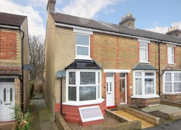 Thumbnail 2 bed end terrace house to rent in Campbell Road, Maidstone