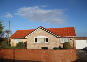 Thumbnail 4 bed detached bungalow for sale in Higher Road, Woolavington, Bridgwater