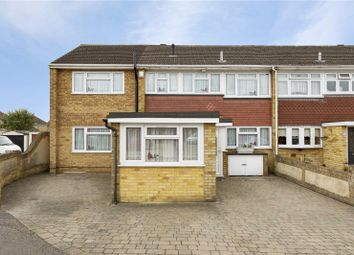 Thumbnail 4 bed end terrace house for sale in Fairlop Close, Hornchurch