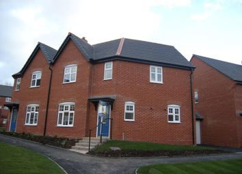 Thumbnail 3 bed semi-detached house to rent in Fenelon Close, Woodville, Swadlincote