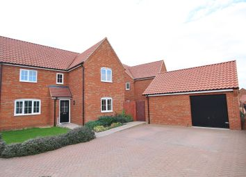 Thumbnail 4 bedroom property to rent in Albini Way, Wymondham, Norfolk