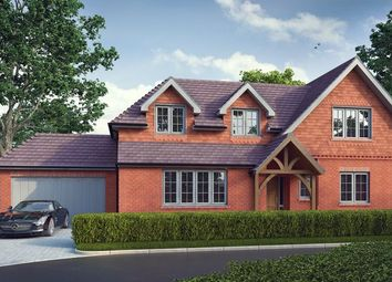 Thumbnail 4 bed detached house for sale in The Great Oaks, Poyle Road, Tongham, Farnham