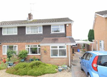 Thumbnail 4 bed semi-detached house for sale in Forest Close, Coed Eva, Cwmbran