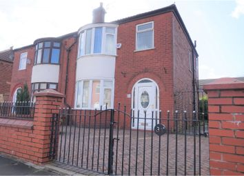 Thumbnail 3 bedroom semi-detached house for sale in Brendon Avenue, Manchester