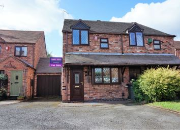 Thumbnail 2 bed semi-detached house for sale in Scott Close, Ashby-De-La-Zouch