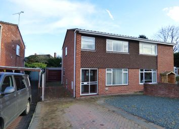 Thumbnail 3 bed semi-detached house for sale in 6 Britten Drive, Malvern, Worcestershire
