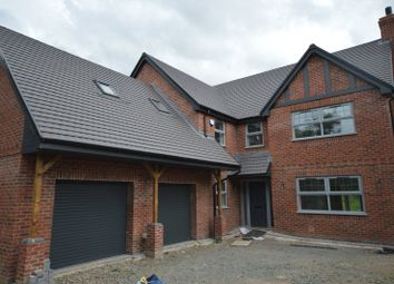 Thumbnail 5 bedroom detached house for sale in White Row, Horton, Telford