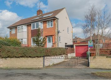 Thumbnail 3 bed semi-detached house for sale in Queensthorpe Avenue, Bramley, Leeds
