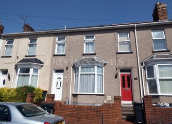 Thumbnail 2 bed terraced house for sale in Annesley Road, Newport, Gwent.