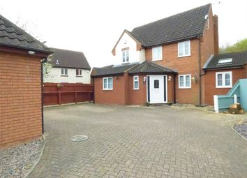 Thumbnail 4 bedroom detached house for sale in Gascoigne, Peterborough, Cambridgeshire