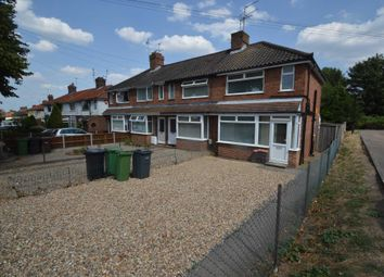 Thumbnail 3 bed end terrace house for sale in Norwich Road, New Costessey, Norwich
