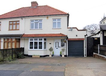 Thumbnail 3 bedroom semi-detached house for sale in Woodstock Avenue, Harold Park, Essex