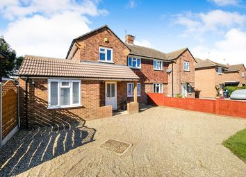 Thumbnail 4 bed semi-detached house for sale in Kings Mead, Smallfield, Horley