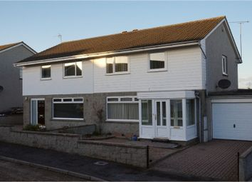 Thumbnail 3 bed semi-detached house for sale in Berryhill Place, Stonehaven