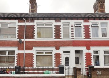Thumbnail 3 bed terraced house for sale in Wilson Street, Splott, Cardiff