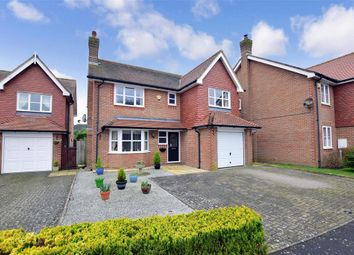 Thumbnail 4 bed detached house for sale in St. Marys Close, Etchinghill, Folkestone, Kent