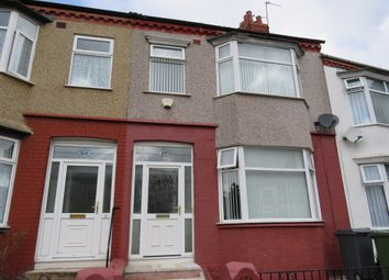Thumbnail 3 bed terraced house for sale in Singleton Avenue, Birkenhead