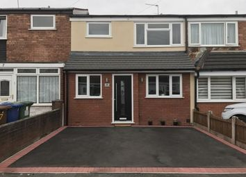 Thumbnail 3 bed terraced house for sale in Chalfont Avenue, Cannock, Staffordshire