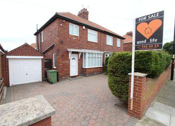 Thumbnail 3 bedroom semi-detached house for sale in Aysgarth Avenue, Grangetown, Sunderland