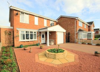 Thumbnail 4 bed detached house for sale in Bromstead Crescent, Stafford