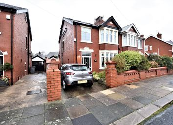 Thumbnail 4 bed semi-detached house for sale in Kempton Avenue, Blackpool, Lancashire