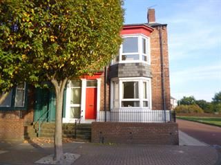 Thumbnail 3 bed end terrace house to rent in South Fredrick Street, South Shielsa