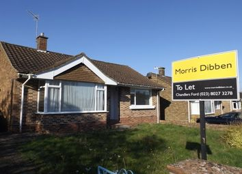 Thumbnail 2 bed bungalow to rent in Peverells Road, Chandler's Ford, Eastleigh