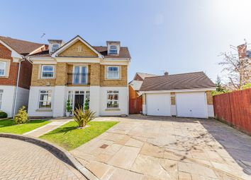 Thumbnail 5 bed detached house for sale in Drifters Drive, Deepcut, Camberley