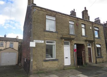 Thumbnail 2 bedroom end terrace house for sale in Joseph Street, Holme Lane, Tong, Bradford