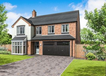 Thumbnail 5 bedroom detached house for sale in Plot 7 Appleby, Coton Road, Rosliston, Swadlincote
