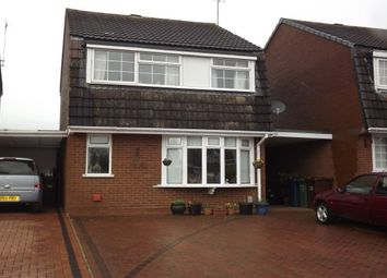 Thumbnail 3 bed detached house to rent in Cameo Way, Stafford