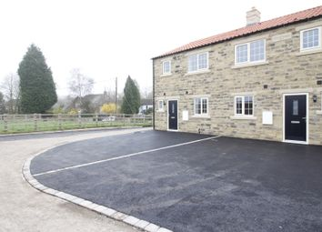 Thumbnail 3 bed terraced house for sale in School Cottages, Cow Lane, Womersley