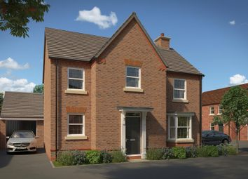 "Thumbnail 4 bed detached house for sale in ""Mitchell"" at Fox Lane, Green Street, Kempsey, Worcester"