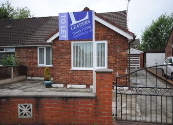 Thumbnail 2 bed bungalow to rent in Walmsley Drive, Rainford, St. Helens