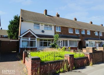 Thumbnail 2 bed end terrace house for sale in Waverley Road, Walsall, West Midlands