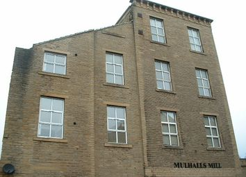 Thumbnail 1 bed flat to rent in Mulhalls Mill, Wharf Street, Sowerby Bridge