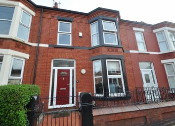 Thumbnail 4 bed terraced house for sale in Gordon Road, New Brighton, Wallasey