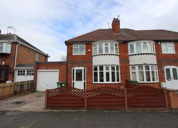 Thumbnail 3 bed semi-detached house to rent in Francis Avenue, Braunstone Town, Leicester