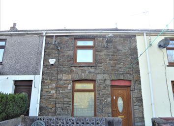 Thumbnail 2 bedroom terraced house for sale in Railway Terrace, Pontycymer, Bridgend, Bridgend County.