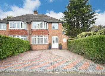 Thumbnail 3 bed semi-detached house for sale in Three Oaks Road, Wythall, Birmingham