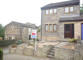 Thumbnail 3 bed link-detached house to rent in Scarhouse Lane, Golcar, Huddersfield