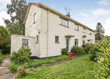 Thumbnail 3 bed semi-detached house for sale in Caslon Close, Fakenham