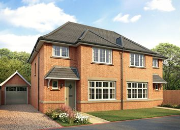 "Thumbnail 3 bedroom semi-detached house for sale in ""Ludlow"" at Waterlode, Nantwich"