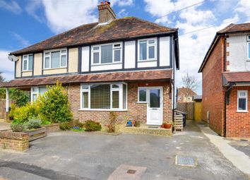 Thumbnail 3 bed semi-detached house for sale in Whitehill Close, Crowborough, East Sussex